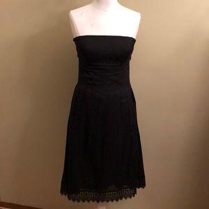 Like new-WHBM Black strapless dress